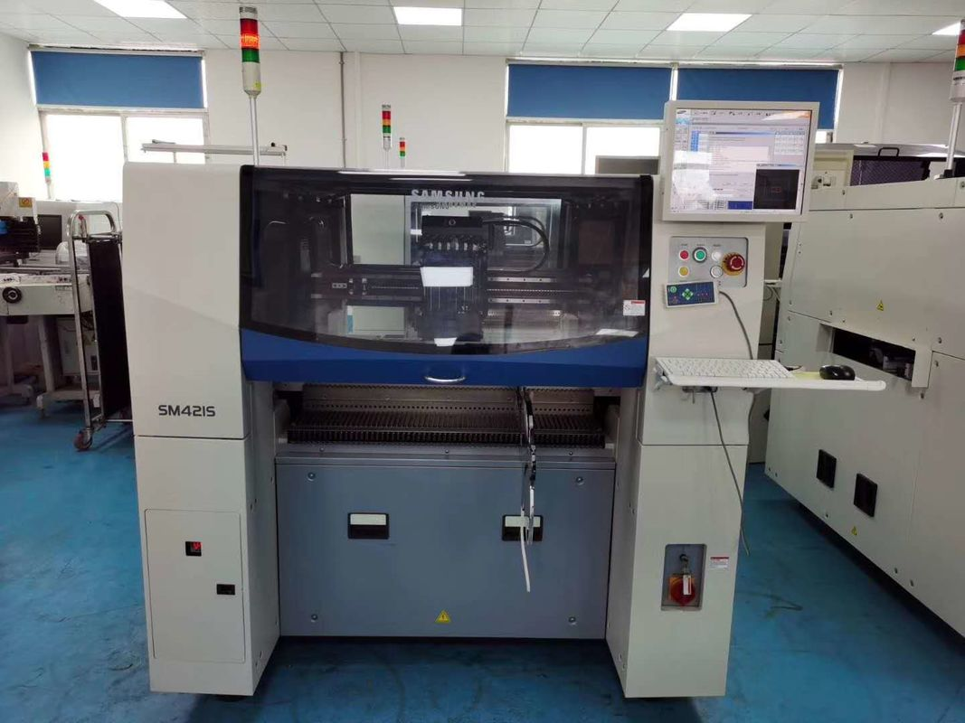 Samsung SM421SMT Pick And Place Machine 21KCPH , Flexible Placer Machine